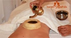 Ayurveda Therapy in Rishikesh | KATIVASTI A treatment ideal for lower back problems. warm medicated oil is kept over the lower back with herbal paste boundary, this promotes a feeling of relaxation and tranquility. http://hariomyogashala.com/ayurveda-courses-in-rishikesh-india.html