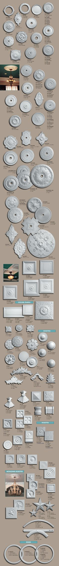 Ceiling Medallions - Products & Services - The Granite Store