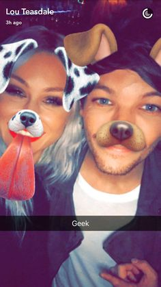 Lou's snapchat with Louis 10.25.16