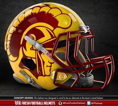 Graphic Designer Creates Alternate Concept Helmets For College ...