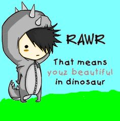 Cute emo dinosaur boy by !buttercupfan123 on deviantART