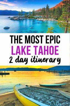 California Travel Guide, Usa Travel Guide, Travel Usa, Travel Guides, Southern California, Travel Tips, Lake Tahoe Vacation, Lake Tahoe Camping, Lake Tahoe Summer