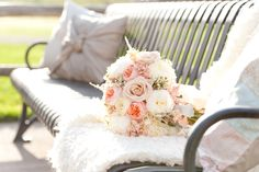 blush garden rose wedding bouquet flowers utah calie rose