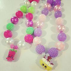 Custom SHOPKINS Necklaces SHOPKINS charm necklace by BJDezigns