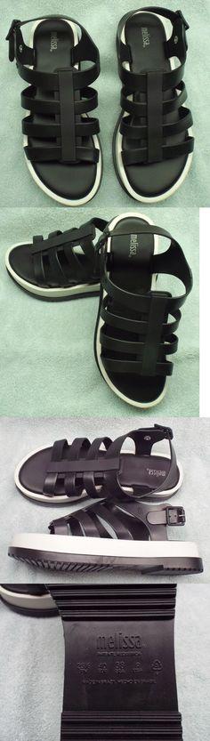 ae497fa14fd01b Sandals and Flip Flops 62107  Melissa Women S Fox Iii Flatform Sandals