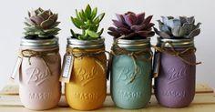 Resultado de imagen para frascos de compota con plantas