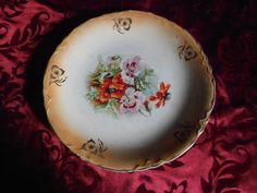 Vintage Thompson Lusterware plate by MermaidMemoirs on Etsy