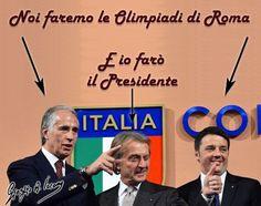 Malagò, Montezemolo e Renzi hanno le idee chiare sulle Olimpiadi di Roma