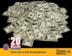 Grab yourself an entry into a brighter future! #superdraw #LotteryDream #LotteryOffice
