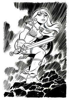 Red Sonja by Bruce Timm