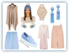 How to Wear #Pantone's 2016 #Color of The Year on www.fashion-isha.com #pastels #pink #blue #accessories #skirts #modest #fashion