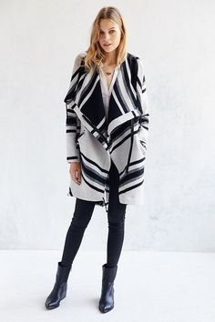 BB Dakota Emmette Asymmetrical Parka Jacket