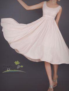 dance in summer/women dress/linen/long/flowing/5 colors. $70.00, via Etsy.