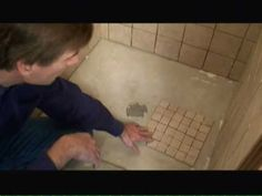 In this video that I filmed several years ago I show how to tile a shower, including the shower walls and shower floor.