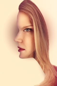 'Optical Illusion Portrait' by Timothy Bailey - Photography from
