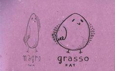 Learning Italian Language ~ Magro, grasso (thin,fat) IFHN