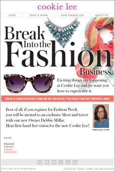 You will be surprised how easy this business is!  Contact me for more info!  www.cookielee.biz/allysonbowler