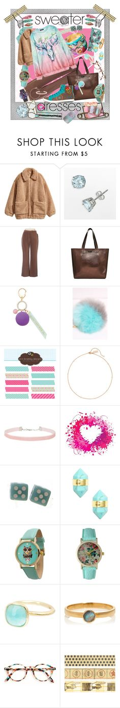 """Cosy floater in a woolen sea"" by crysta1 on Polyvore featuring Polaroid, H&M, Coldwater Creek, Superdry, Desigual, Ladurée, Sole Society, Miss Selfridge, Sterling Forever and Olivia Pratt"