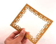 Rectangle Frame made with Corner Punches Tutorial