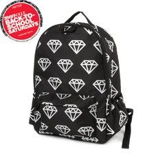 50fc8485c6 Glittery Diamond Print Backpack♡ by tiffany High School Bags