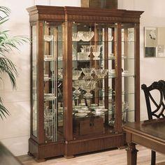 Thumbnail of Hurtado - Display Cabinet Living Room Display Cabinet, Cabinet Decor, Large Furniture, Home Decor Furniture, Furniture Design, Furniture Stores, Elegant Dining Room, Dining Room Design, Crockery Cabinet