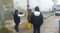 19-03-14 Operativo de limpieza en el barrio Barrio Las Cruces