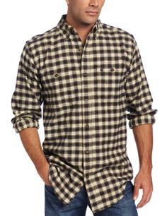 88d7ef0635 Carhartt Mens Trumbull Plaid Shirt, Black, Medium/Regular « Impulse Clothes