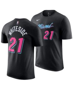7d028cdd8e8 Hassan Whiteside Miami Heat City Edition T-Shirt
