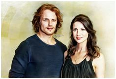 Sam y Cait #outlander