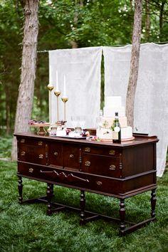 Dessert Tablescape | Wine Inspired Wedding Ideas