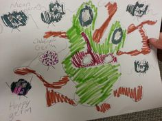 Incredible Germs- interdisciplinary art/science project 1st-3rd