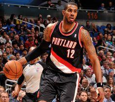 LaMarcus Aldridge - NBA Player - Portland Trail Blazers #12 - Center-Forward