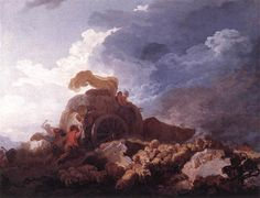 La tempesta, 1759, olio su tela, Louvre, Parigi
