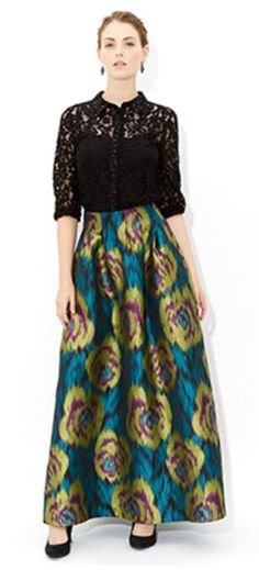 MONSOON Elfina Maxi Skirt UK14 EUR42  MRRP: £149.00 GBP - AVI Price: £97.00 GBP