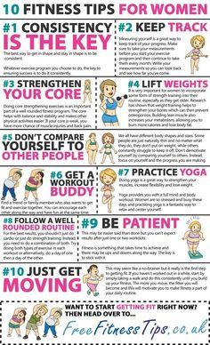 10 Fitness Tips for Women.