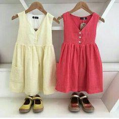 9d3fb9df7 Items similar to Linen dress, Boho dress, Coral girls dress, girls linen  dress, girls summer dress, coral dress, boutique girls dress, flower girl  dress, ...