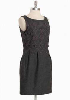 Anya Lace  Grey dress  #2dayslook #Greydress #anoukblokker #lily25789 #ramirez701  http://2dayslook.com  www.2dayslook.com