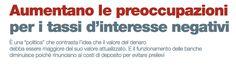 AUMENTANO LE PREOCCUPAZIONI PER I TASSI D'INTERESSE NEGATIVI di Christopher Chu - #scripomarket #scripofilia #scripophily #finanza #finance #collezionismo #collectibles #arte #art #scripoart #scripoarte #borsa #stock #azioni #bonds #obbligazioni