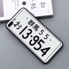 JDM Plates iPhone Case