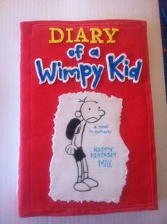 Diary of a wimpy kid 9th Birthday, Birthday Cakes, Birthday Ideas, Happy Birthday, Cake Decorating, Decorating Ideas, Kids Diary, Wimpy Kid, Cakes For Boys