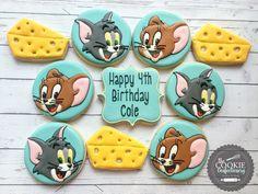 Tom & Jerry Birthday Cookies
