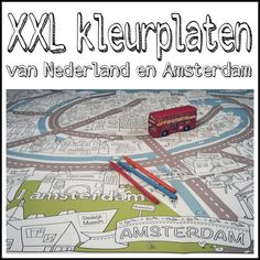 Such a fun extension for our audio stories for kids about Amsterdam. We are traveling the world to write our stories for kids. Audio Stories For Kids, Dutch Language, Alien Tattoo, Amsterdam, Netherlands, Holland, Art For Kids, Have Fun, Arts And Crafts