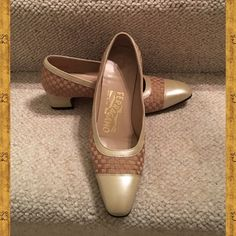 Authentic Salvatore Ferragamo Pump Shoes Salvatore Ferragamo Pump Shoes. Made in Italy. Salvatore Ferragamo Shoes