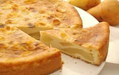 Prajitura frantuzeasca cu pere, deliciul zilelor de toamna | Jurnal de reţete Romanian Food, Kiwi, Apple Pie, Unt, Desserts, Recipes, Cakes, Pineapple, Tailgate Desserts