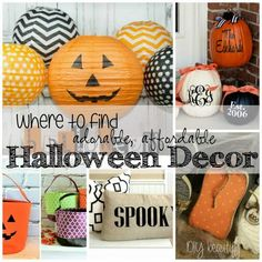 Cute Halloween Decor at a Great Price