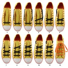 DIY sneaker How To Lace Converse, Designer Shoes, Lego, Footwear, Flats, Shoe Lacing, My Style, Sneakers, Diy Things