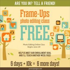 Free Photo Editing Class! - StudioScrapping with Amy Ulen
