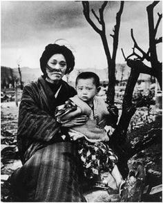 Photo: Hiroshima survivors. July 29 marks WWI's 100th anniversary. It was called the war to end all wars. Never again was heard. In 1928, Kellogg-Briand policy renounced aggressive wars. The UN Cha...