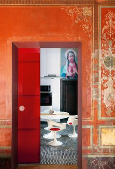 DECOR INTERIORS ROOMS Palazzo Ruffo Di Kastechikala Naples