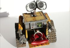 A Wall-E Engagement Ring Box! (#Obsessed)